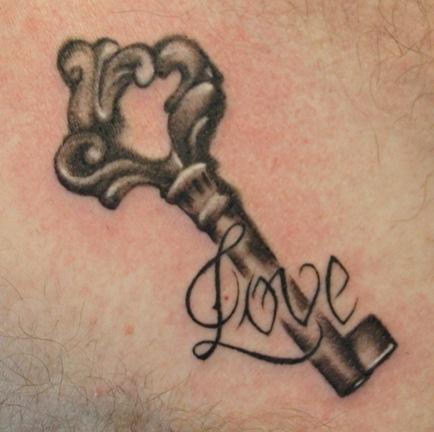 тату эскизы ключ: